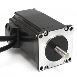 استپر موتور دور بالای هیبرید (Hybrid) 57HSE2N-D25 حلقه بسته (close loop)  به همراه سرو درایور HBS57