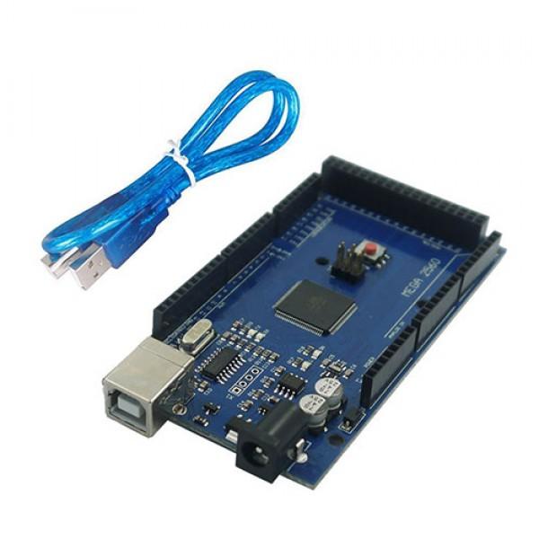 برد آردوینو Arduino MEGA 2560 -ch340 به همراه کابل