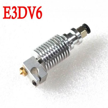 هات اند (HotEnd) پرینتر سه بعدی E3D V6 1.75mm به همراه رابط پنوماتیک