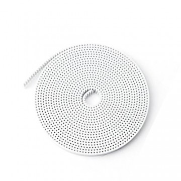 تسمه GT2 سفید عرض 6mm (سیم دار)