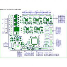 برد کنترلر پرینتر سه بعدی MKS BASE V1.5