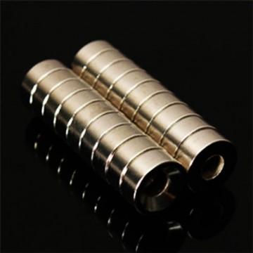 آهنربا نئودیمیوم استیل رینگی_Neodymium magnet