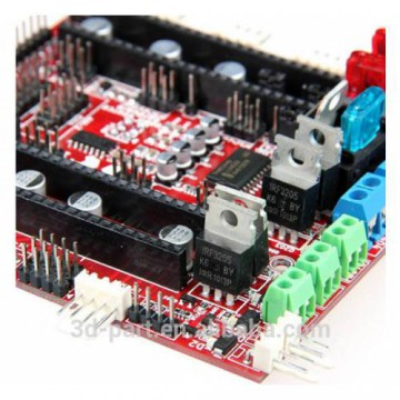 برد کنترلر پرینتر سه بعدی 32 بیتی Ramps-FD سازگار با آردوینو Due