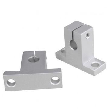 براکت فلزی نگهدارنده عمودی SK12 مناسب برای نگهداری شفت 12 میلی متری