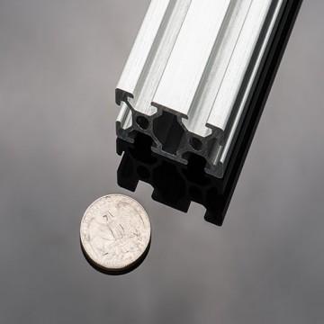 پروفیل آلومینیومی شیاردار (پروفیل مهندسی) 20x40