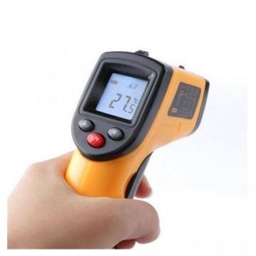 دماسنج لیزری دیجیتال غیر تماسی IR Thermometer GM320