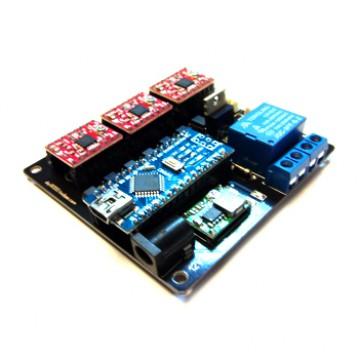 برد کنترل سه محور مناسب برای دستگاه سی ان سی و لیزر ،مبتنی بر GRBL