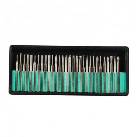 ست 30 عددی انواع قلم حکاکی