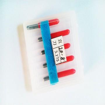 انواع قلم حکاکی و تراش سی ان سی (تخت/flat) Flat Shape Engraving tools