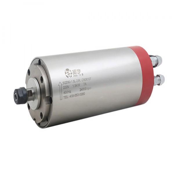 اسپیندل موتور 1.5 کیلو وات SQD80 آب خنک محصول Zhenyu