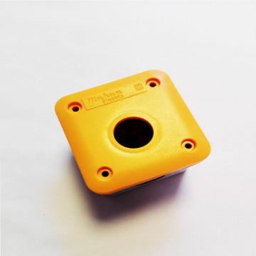 جعبه کنترل تکی مناسب برای کلید اضطراری با قابلیت نصب توکار و روکار