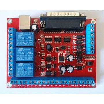 برد کنترل cnc شش محور سازگار با MACH3