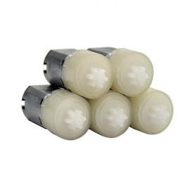 موتور دی سی (آرمیچر) مینیاتوری گیربکس دار mini DC motor gearbox 1.5v یک و نیم ولت