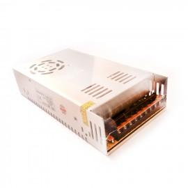 منبع تغذیه سوئیچینگ 24 ولت 20 آمپر فن دار - پاور صنعتی