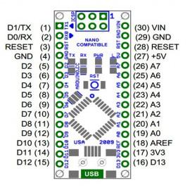 برد آردوینو نانو  Arduino nano