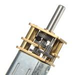 موتور DC مینیاتوری گیربکس فلزی 6 ولت