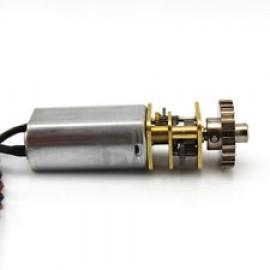 موتور DC گیربکس فلزی 6 ولت GM1547