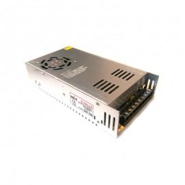 منبع تغذیه سوئیچینگ 24 ولت 15 آمپر فن دار - پاور صنعتی