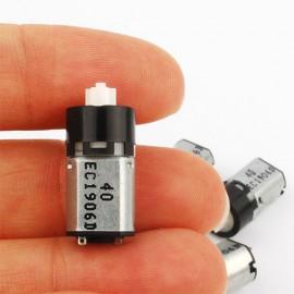 موتور دی سی (آرمیچر) مینیاتوری گیربکس دار mini DC motor gearbox 3v سه ولت
