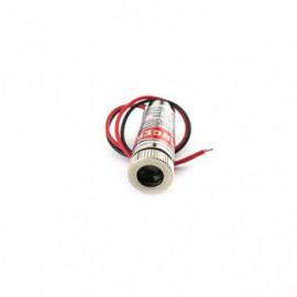 ماژول لیزر قرمز نقطه ای 5mw 650nm مدل D5MW-12MM با قابلیت تنظیم نور