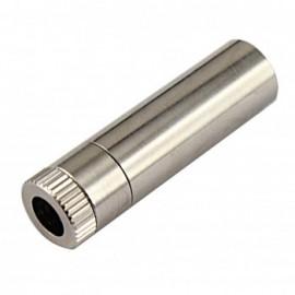 کیس تمام فلزی دیود لیزر به همراه لنز پلاستیکی - ابعاد 12X45mm