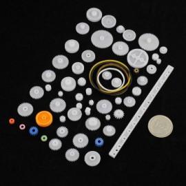 بسته 60 تایی انواع چرخ دنده انتقال قدرت