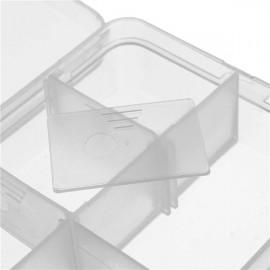 جعبه پلاستیکی 10 قسمتی با قابلیت تغییر اندازه سلول ها Plastic Storage Box 10 Cells