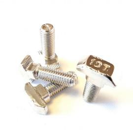 پیچ T (تی) M8 شیار 10 آبکاری شده مناسب برای پروفیل صنعتی  40x40 و 45×90