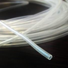 لوله 2x3 PTFE نرم شفاف جهت استفاده در انواع پمپ های پریستالتیک و مصارف گوناگون دیگر
